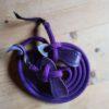 Western Loop Reins purple