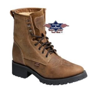 Boots braun Stars & Stripes