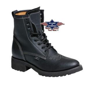 Boots schwarz Stars & Stripes