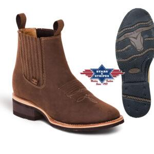Boots / Bottinen braun