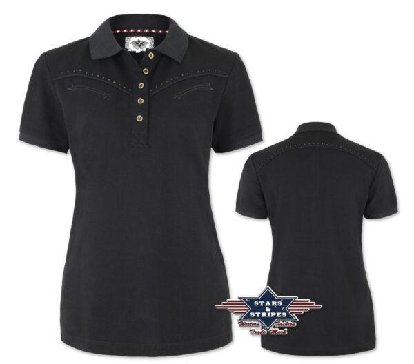 Poloshirt ZOE schwarz